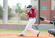 April 17, 2011: The Oklahoma Baptist University Bison play against the Oklahoma Christian University Eagles at Dobson Field on the campus of Oklahoma Christian University.