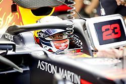 September 20, 2019, Singapore, Singapore: Motorsports: FIA Formula One World Championship 2019, Grand Prix of Singapore, ..#23 Alexander Albon (THA, Aston Martin Red Bull Racing) (Credit Image: © Hoch Zwei via ZUMA Wire)