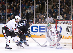 20100128 - Chiacago Blackhawks at San Jose Sharks (NHL Hockey)