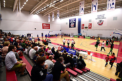 Teams warm up  - Photo mandatory by-line: Joe Meredith/JMP - 24/09/2016 - BASKETBALL - SGS Wise Arena - Bristol, England - Bristol Flyers v Plymouth Raiders - British Basketball League Championship