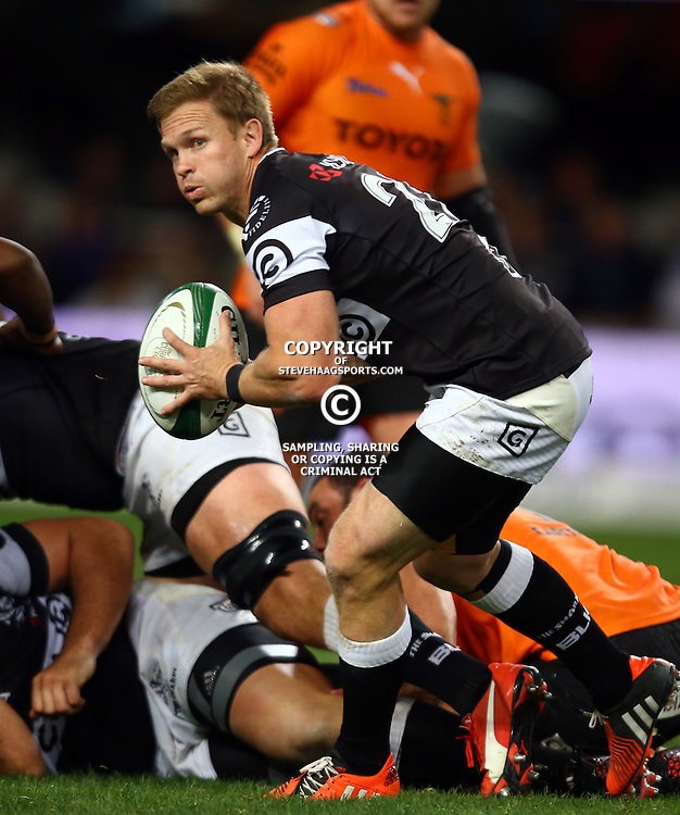 DURBAN, SOUTH AFRICA - SEPTEMBER 10: Stefan Ungerer of the Cell C Sharks during the Currie Cup match between the Cell C Sharks and Toyota Cheetahs at Growthpoint Kings Park on September 10, 2016 in Durban, South Africa. (Photo by Steve Haag/Gallo Images)