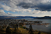 KELOWNA, BC - 22/04/09 - An overview of the Okanagan Valley city of  Kelowna, British Columbia.   Photo by Daniel Hayduk