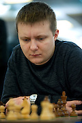 Alexander Areshchenko (Aleksander Areszczenko) from Ukraine during European Team Chess Championships 2013 at Novotel Hotel in Warsaw on November 12, 2013.<br /> <br /> Poland, Warsaw, November 12, 2013<br /> <br /> Picture also available in RAW (NEF) or TIFF format on special request.<br /> <br /> For editorial use only. Any commercial or promotional use requires permission.<br /> <br /> Mandatory credit:<br /> Photo by &copy; Adam Nurkiewicz / Mediasport