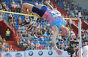 Sylwester Bednarek (POL) wins the high jump at during the 56th Ostrava Golden Spike in an IAAF World Challenge meeting at Mestky Stadion in Ostrava, Czech Republic on Wednesday, June 28, 20017. (Jiro Mochizuki/Image of Sport)