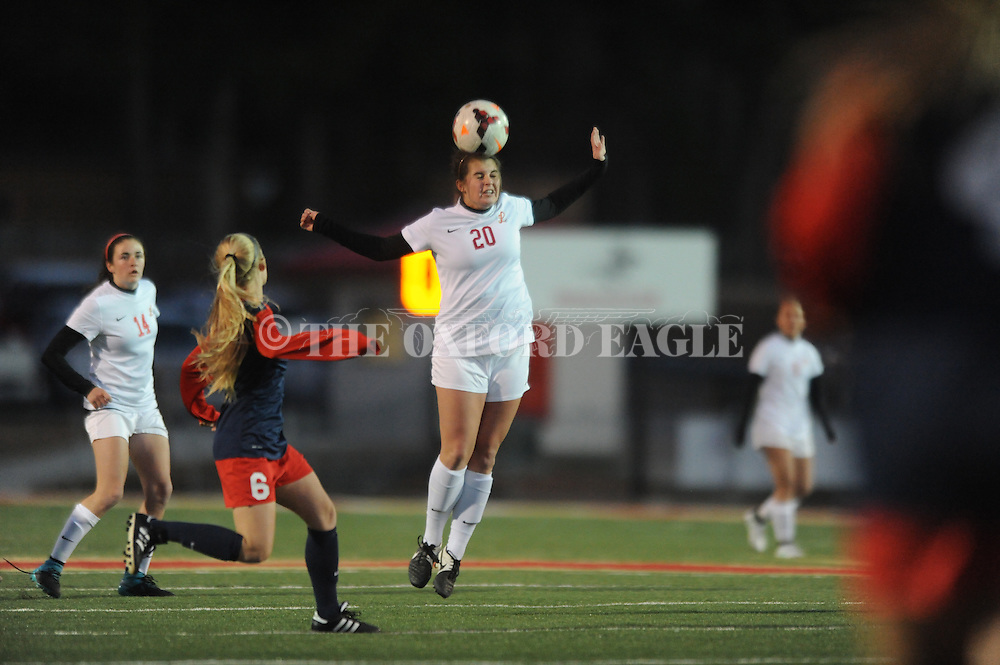 Lafayette High vs. Richland in the MHSAA Class 4A North Half playoffs in Oxford, Miss. on Wednesday, February 3, 2016. Lafayette won 3-2 to advance to the state championship.
