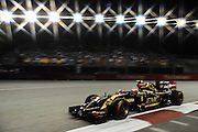 September 18-21, 2014 : Singapore Formula One Grand Prix - Pastor Maldonado, (VEN), Lotus-Renault