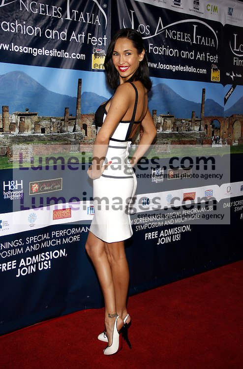 HOLLYWOOD, CA - MARCH 01, 2010: Eugenia Cheranyshova at the Los Angeles premiere of 'Andrea Bocelli The Story Behind the Voice' held at the Grauman's Chinese Theater in Hollywood, USA on March 1, 2010.