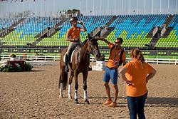 Blom Merel, NED, Rumour Has It<br /> Merel Blom, NED, Rumaor Has It<br /> Olympic Games Rio 2016<br /> © Hippo Foto - Dirk Caremans<br /> 04/08/16