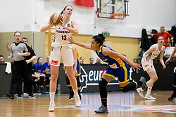 Zala Friskovec of Slovenia during basketball match between National teams of Slovenia and Romania in 4. round of FIBA Women's EuroBasket 2019 Qualifiers, on February 14, 2018 in Dvorana Gimnazija Celje - Center, Slovenia. Photo by Urban Urbanc / Sportida