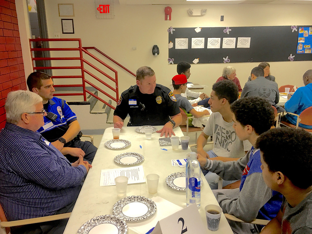 Police and City Teenagers Dialogue, Boys and Girls Club, Reading PA