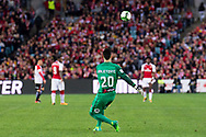 July 15 2017: Western Sydney Wanderers goalkeeper Vedran JANJETOVIC (20) returns the ball at the International soccer match between English Premier League giants Arsenal and A-League team Western Sydney Wanderers at ANZ Stadium in Sydney.
