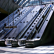 Escalators, London, England (July 2004)