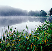 Mist on Canton Lake
