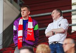 Bristol City fans - Mandatory by-line: Matt McNulty/JMP - 14/04/2018 - FOOTBALL - Riverside Stadium - Middlesbrough, England - Middlesbrough v Bristol City - Sky Bet Championship