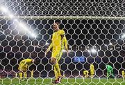 PARIS, FRANKRIKE - 2016-11-11: Andreas Granqvist deppar efter att France gjort 2-1 under VM-kvalmatchen mellan Frankrike och Sverige p&aring; Stade de France, Paris, den 11 november 2016.<br /> Foto: Nils Petter Nilsson/Ombrello<br /> ***BETALBILD***