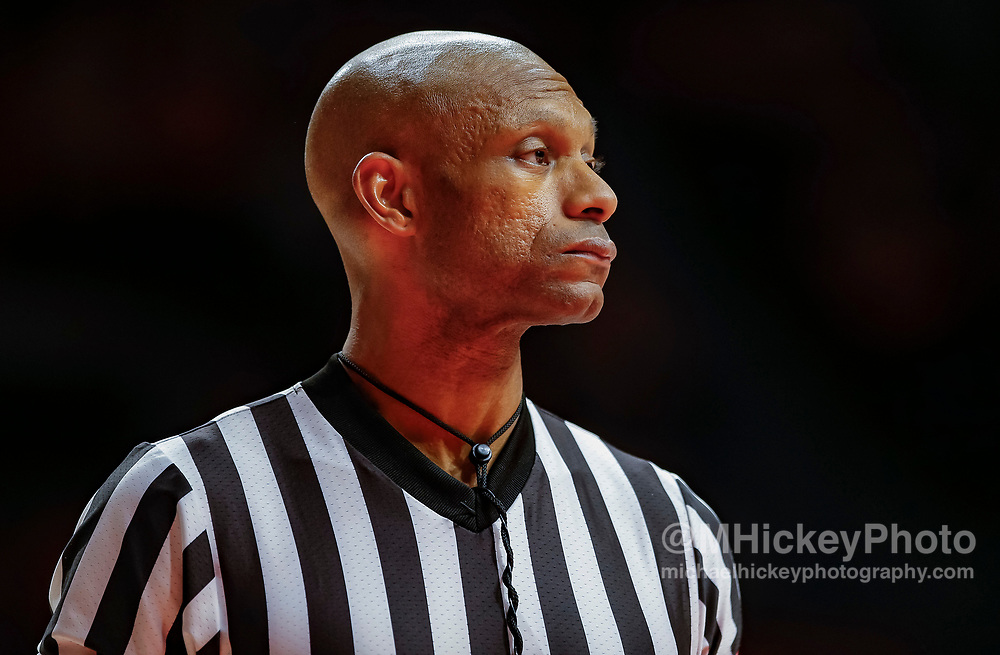 CHAMPAIGN, IL - DECEMBER 08: NCAA basketball official Lewis Garrison is seen during the Illinois Fighting Illini and UNLV Rebels game at State Farm Center on December 8, 2018 in Champaign, Illinois. (Photo by Michael Hickey/Getty Images) *** Local Caption *** Lewis Garrison