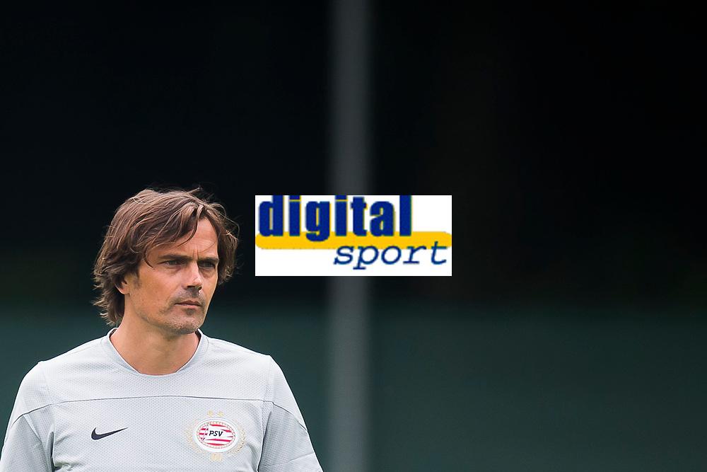 EINDHOVEN, eerste training PSV, voetbal, seizoen 2013-2014, 01-07-2013, trainingscomplex Herdgang, Phillip Cocu.