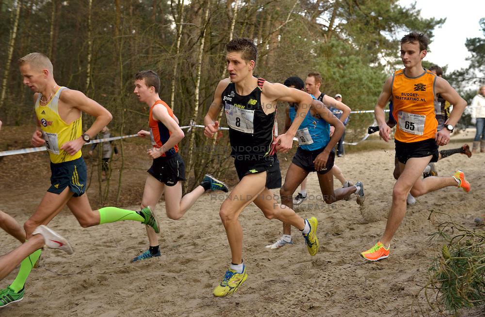 31-12-2014 NED: Rabobank Sylvestercross, Soest<br /> Ronald Schroer (8)