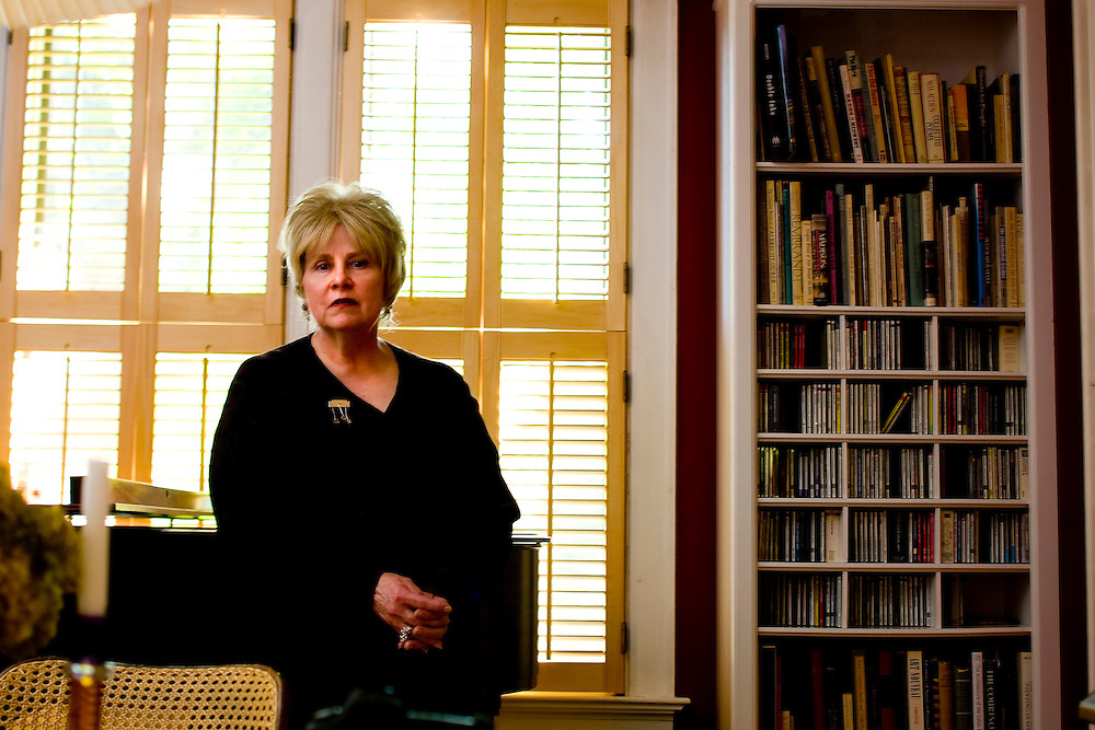 Whitney Gould writer for the Milwaukee Journal Sentinel at her home in Milwaukee wi for Milwaukee Magazine. (Photo/Darren  Hauck/ Milwaukee Magazine).
