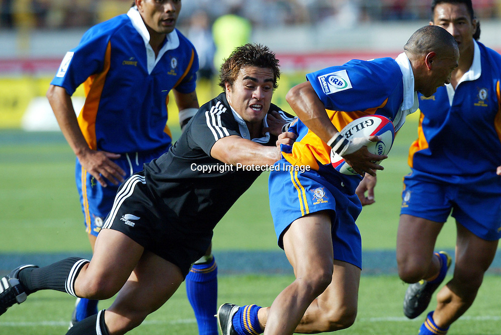06 February 2004, Westpac Stadium, Wellington, IRB New Zealand Sevens.<br />