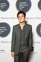 jamie cullen attends the media room during the 2019 Hyundai Mercury Prize Launch, Eventim Apollo, London, UK, Saturday 06 July 2019<br /> Photo JM Enternational