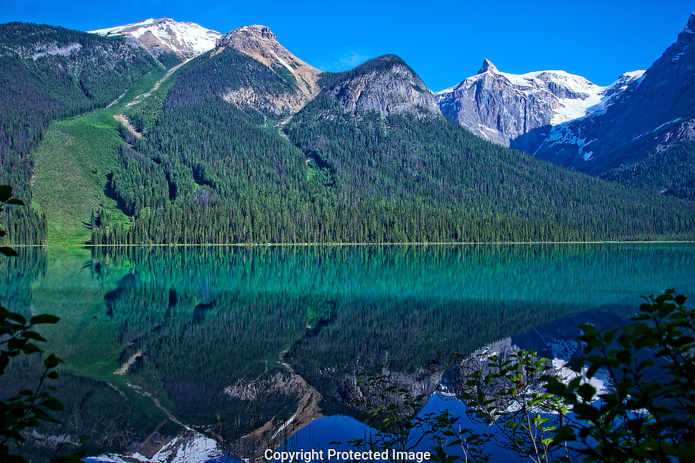 Emerald Lake in Yoho Nat'l Park., British Columbia, canada, Isobel Springett