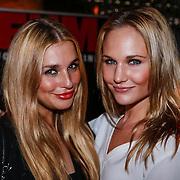NLD/Amsterdam/20121126 - Bekendmaking FHM 500 Mooiste Meisjes 2012, Gaby Blaaser en Kimberly Klaver