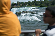Niagara Falls in Niagara Falls, New York on Monday, August 14, 2017.
