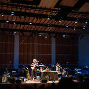 February 7, 2012 - New York, NY :.Sxip Shirey, left, and Angélica Negrón perform 'Asa Nisi Masa' during Kaufman Center's presenation of the Ecstatic Music Festival 2012 at Merkin Concert Hall in Manhattan on Tuesday night. .CREDIT: Karsten Moran for The New York Times
