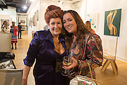LADY SANDRA BATES; MARNIE SUMMERFIELD SMITH, Lady  Sandra Bates and Jason Bradbury host 'Lust' a mixed exhibition. La Galleria. Pall Mall.  London 3 September 2013.
