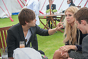 DOUGLAS BOOTH; VANESSA KIRBY, Cartier Queen's Cup. Guards Polo Club, Windsor Great Park. 17 June 2012