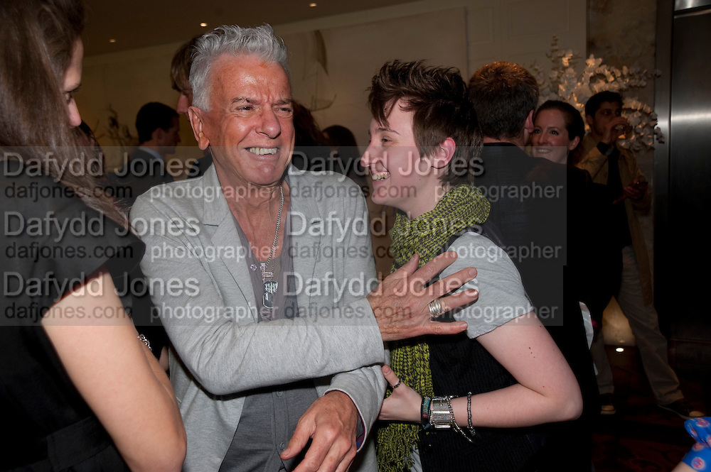 NICKY HASLAM; FISH, Book launch party for the paperback of Nicky Haslam's book 'Sheer Opulence', at The Westbury Hotel. London. 21 April 2010