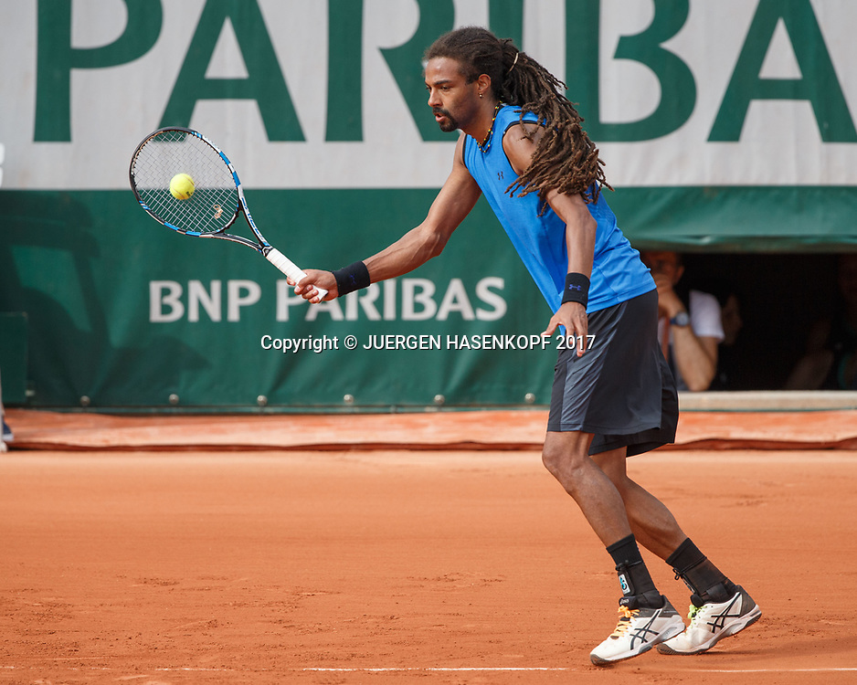 DUSTIN BROWN (GER)<br /> <br /> Tennis - French Open 2017 - Grand Slam ATP / WTA -  Roland Garros - Paris -  - France  - 30 May 2017.
