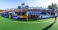 BREDA -   open tribune bij Oranje voor  Nederland-Japan bij de 4 Nations Trophy dames 2018 .  COPYRIGHT KOEN SUYK