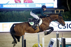 Zanotelli Marlon, (BRA), Rock n Roll Semilly, FEI President<br /> Logines Challenge Cup<br /> Furusiyya FEI Nations Cup Jumping Final - Barcelona 2015<br /> © Dirk Caremans<br /> 25/09/15