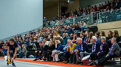 21-12-2019 NED: AVV Keistad - Lycurgus, Amersfoort<br /> 1/4 final National Cup season volleyball men, Lycurgus win 3-0 / Spectators, support, fully tribunes