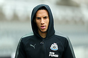 Isaac Hayden (#14) of Newcastle United arrives ahead of the Premier League match between Newcastle United and Southampton at St. James's Park, Newcastle, England on 10 March 2018. Picture by Craig Doyle.