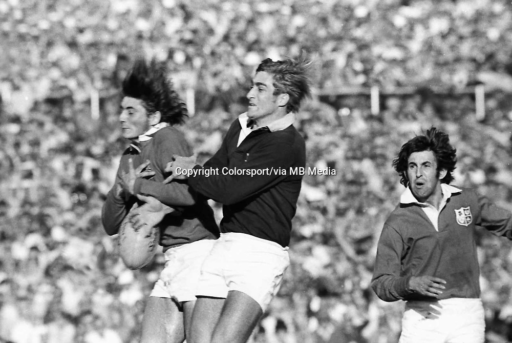 Andy Irvine and Ian McGeechan - right (Lions) South Africa v British Lions 4th test 27/07/1974 @ Ellis Park  Credit : Colorsport