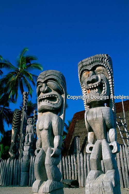 Pu'uhonua National Park, City of Refuge, Island of Hawaii, Hawaii<br />