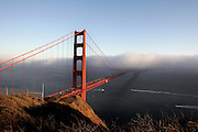 US-SAN FRANCISCO: Golden Gate Bridge. PHOTO: GERRIT DE HEUS