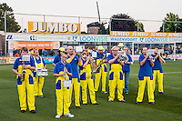 LIENDEN - 21-09-2016, FC Lienden - AZ, Sportpark de Abdijhof, drumband.