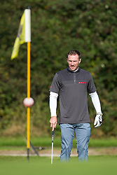 Liam Lawrence of Bristol Rovers joins Team Heineken UK as they take part in the annual Bristol Rovers Golf Day - Rogan Thomson/JMP - 10/10/2016 - GOLF - Farrington Park - Bristol, England - Bristol Rovers Golf Day.
