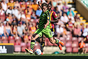 Forest Green Rovers Dayle Grubb(8) on the ball during the EFL Sky Bet League 2 match between Bradford City and Forest Green Rovers at the Utilita Energy Stadium, Bradford, England on 24 August 2019.