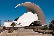 View of Auditorio de Tenerife, Santa Cruz de Tenerife, Spain
