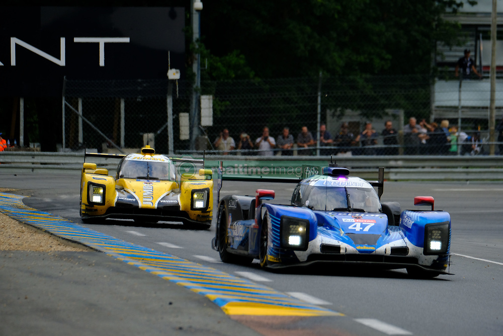 June 17, 2018 - Le Mans, Sarthe, France - Cetilar Villorba Corse DALLARA P217 Gibson Driver GIORGIO SERNAGIOTTO (ITA) in action during the 86th edition of the 24 hours of Le Mans 2nd round of the FIA World Endurance Championship at the Sarthe circuit at Le Mans - France (Credit Image: © Pierre Stevenin via ZUMA Wire)