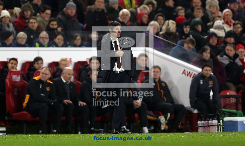 Middlesbrough manager Aitor Karanka during the Premier League match at the Riverside Stadium, Middlesbrough<br /> Picture by Christopher Booth/Focus Images Ltd 07711958291<br /> 05/12/2016