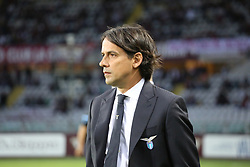 April 29, 2018 - Turin, Piedmont, Italy - Simone Inzaghi, head coach of SS Lazio,  before the Serie A football match between Torino FC and SS Lazio at Olympic Grande Torino Stadium on April 29, 2018 in Turin, Italy..Final results is 0-1. (Credit Image: © Massimiliano Ferraro/NurPhoto via ZUMA Press)