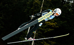 Ingebjoerg Saglien Braaten of Norway competes during Team Competition at Day 2 of World Cup Ski Jumping Ladies Ljubno 2019, on February 9, 2019 in Ljubno ob Savinji, Slovenia. Photo by Matic Ritonja / Sportida