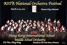 Hong Kong International School Middle School Orchestra, March 17, 2011