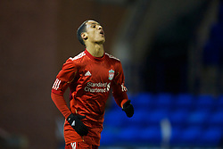BIRKHENHEAD, ENGLAND - Monday, February 28, 2011: Liverpool's Thomas Ince rues a missed chance during the FA Premiership Reserves League (Northern Division) match against Blackburn Rovers at Prenton Park. (Photo by David Rawcliffe/Propaganda)